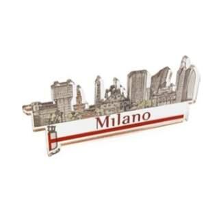 Modern Skyline Plexiglass magnet