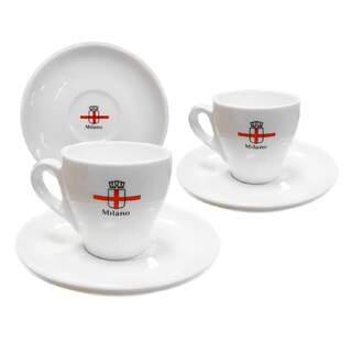 Milano coffee cup set