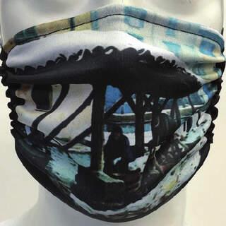 Milanese Mask Lavandaie