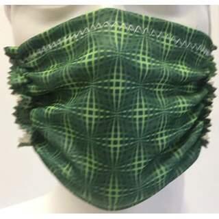 Green Pattern Mask