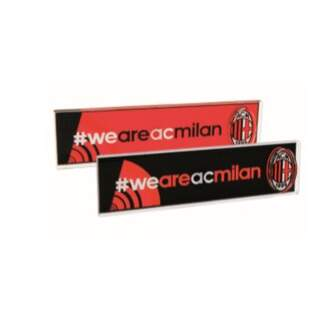 Rectangular weareACMILAN Plexiglass magnet