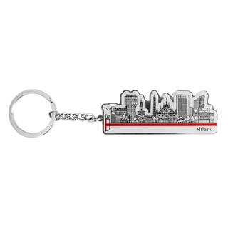 Keyring Skyline Shaped