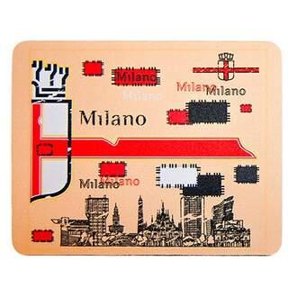Milan Flag Mousepad