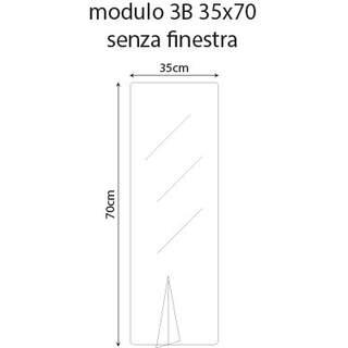 Plexiglass (bulkheads) 35x70cm