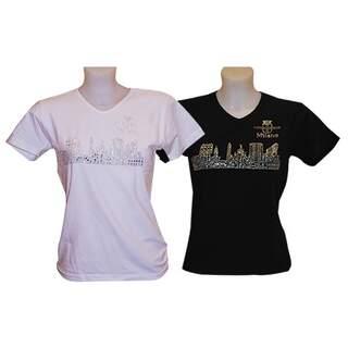 Lady Sky glitter t-shirt