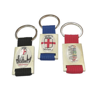 Metal Nylon keyring