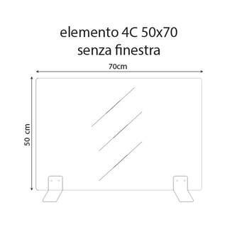 Plexiglass (bulkheads) 50x70cm