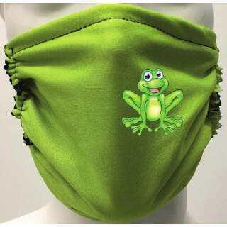Green Mask with frog