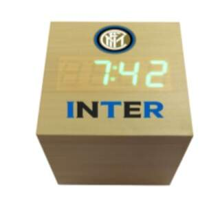 Electronic cube clock