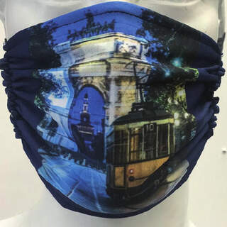 City of Milan Mask