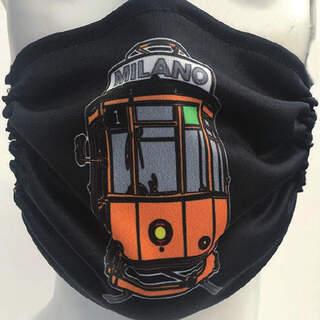Tram Mask Black