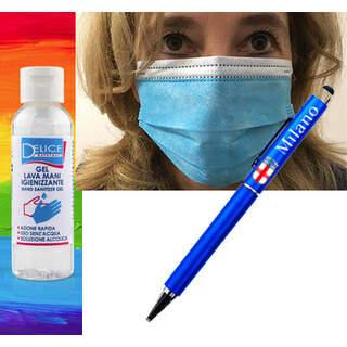 Stay Safe Kit with also 10 masks
