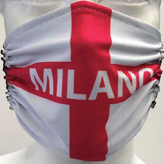 Milan Flag Mask
