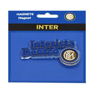 Inter Magnet in Plexiglass Shaped Interista Inside